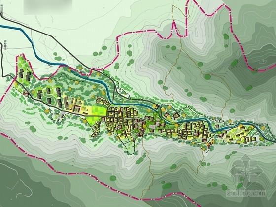 [北京]绿色生态活力乡村景观规划设计方案