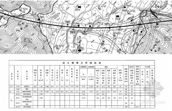 [福建]24.5m宽路基双向四车道高速公路工程地质勘察调研报告520页