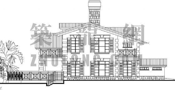 经典小型别墅方案系列5