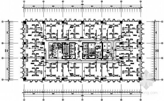 VRV中央空调系统施工资料资料下载-[上海]生活广场中央空调系统施工图