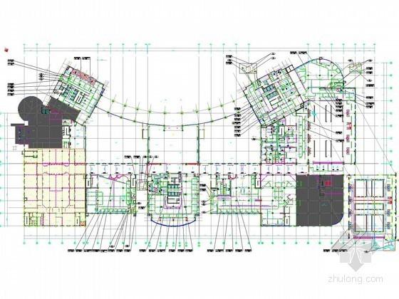 [安徽]高层五星酒店空调通风及防排烟系统设计施工图(采暖设计)