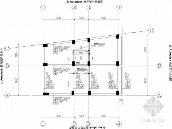 小高层住宅框剪结构施工图
