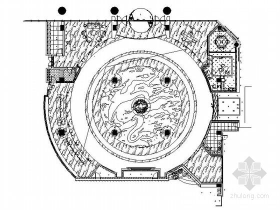 [建筑]文件平面导入施工图cad资料下载cad怎么饭店分享cdr图片
