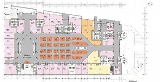 [吉林]大型室内外商业购物广场室内设计方案(设计逻辑清晰!  )