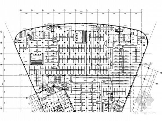 [武汉]城市综合体空调通风设计全套施工图纸(30万平米)