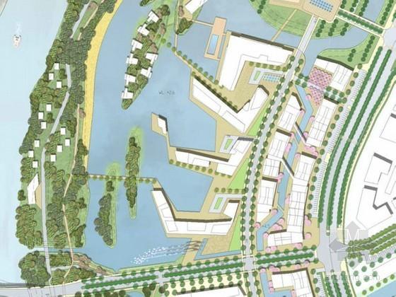 [昆山]国际商务滨江区域景观设计