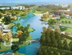 [江苏]滨湖特色背山面水高差地形公园景观设计方案