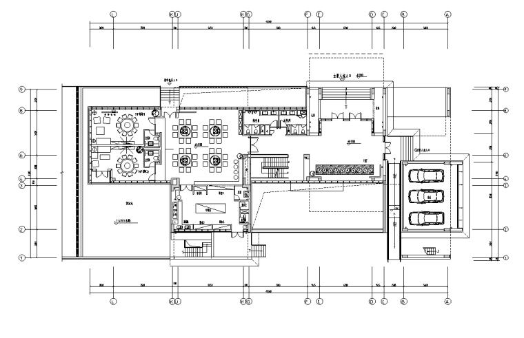 VIP包间立面图资料下载-[四川]成都青羊区办公楼施工图