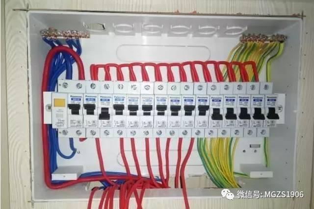 配电箱系统图实际接线用户箱系统图识图