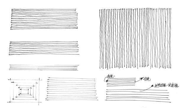 室内设计手绘表现基础练习