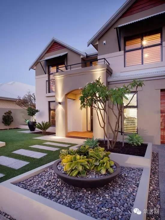 别墅庭园绿化造景的几种风格