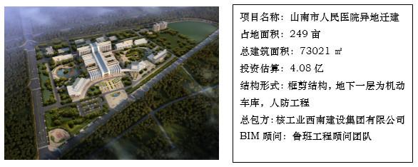 BIM技术在山南人民医院项目的应用纪实