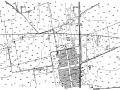 [山东]潍坊交通工程及沿线设施线路平面/纵断面/透视图