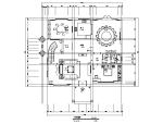新中式风格三层别墅设计施工图(附效果图)
