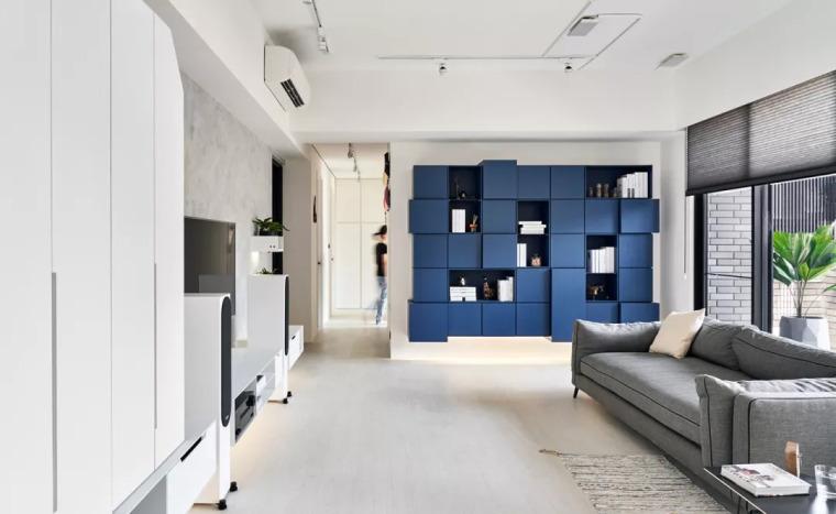 140㎡现代简约风,舒服自在的家就该这样!_1