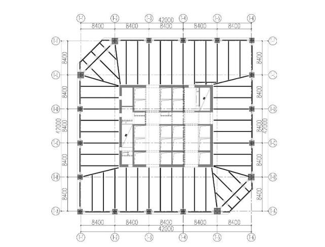 [昆明]框筒结构办公塔楼超限高层结构设计论文