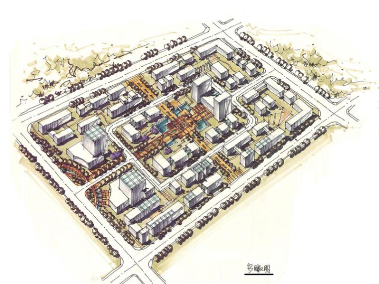 《城市规划快题100例》考研手绘资料-未标题-1