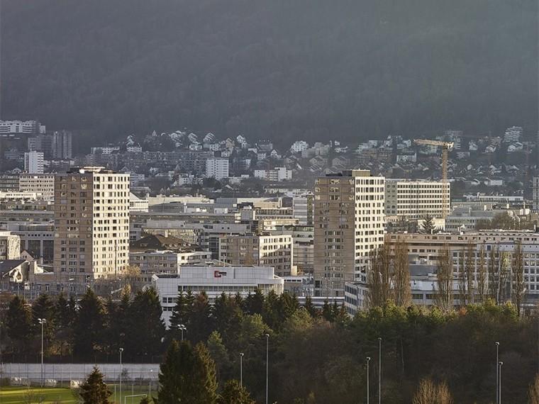 瑞士LetzibachSub-DevelopmentC住宅楼