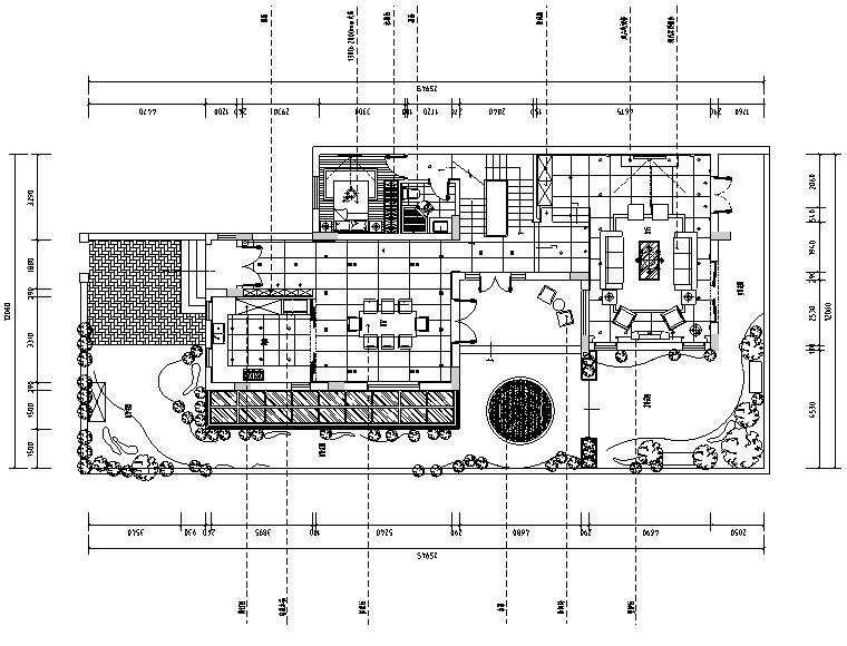 曦城现代风格别墅样板间设计施工图(附效果图)