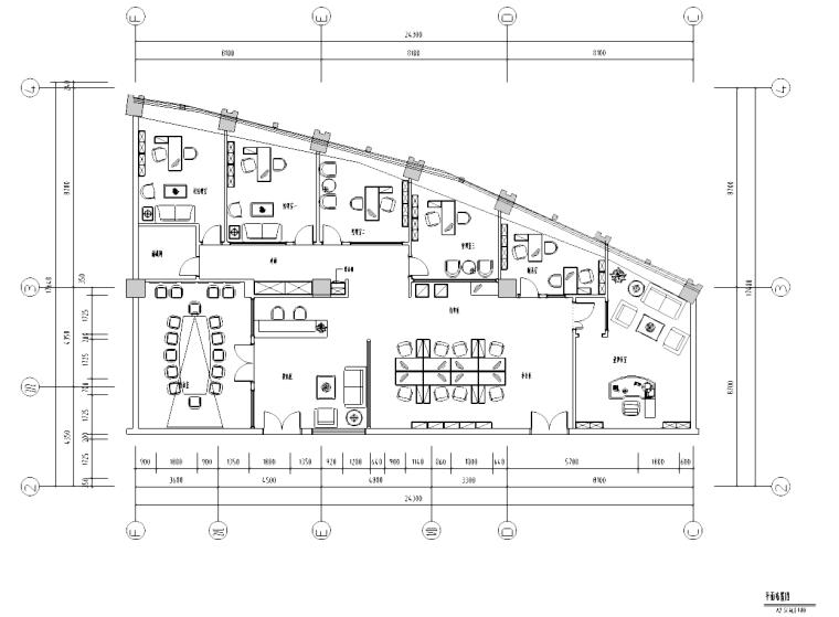 [广东]置业有限公司混搭风格装修施工图