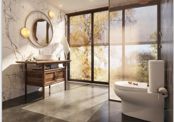 9套中式风格卫浴空间3D模型合集