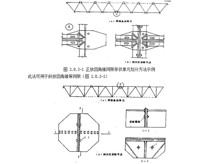 中建钢结构工程施工工艺标准-分条或分块安装法
