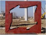 方形抱箍在灌河大桥引桥盖梁施工中的应用