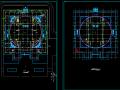 9598平米地下1地上3层广东省博物馆建筑方案设计图