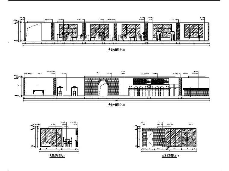 [北京]酒店式公寓室内设计施工图(含效果图)_2