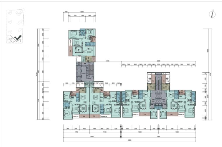 深圳岛城邦三期住宅建筑设计方案文本(含多套方案)_8