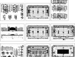 某多层美食城餐饮建筑设计方案施工图(方案CAD)