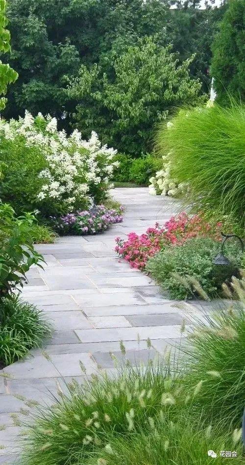 花草与石板的关系•花园小径_30