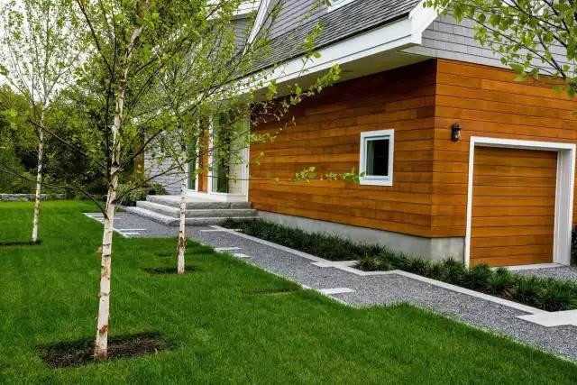 赶紧收藏!21个最美现代风格庭院设计案例_121