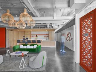 阿里巴巴活力和灵活融合的美国办公室