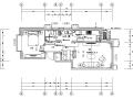 [北京]某楼盘G户型室内设计施工图(含效果图)