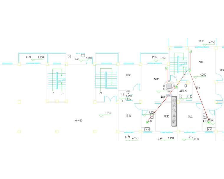 多层商住楼电气设计图纸