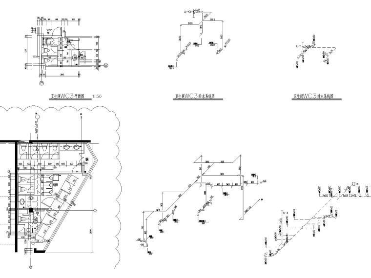 [上海]国际金融中心给排水全套施工图(含消防设计)_8
