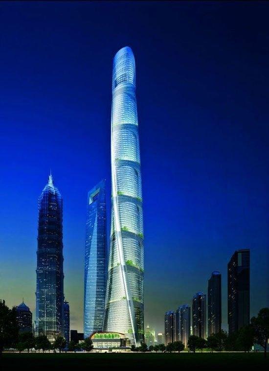 中国高度,建世界第二高楼,636米125层今年竣工!_2