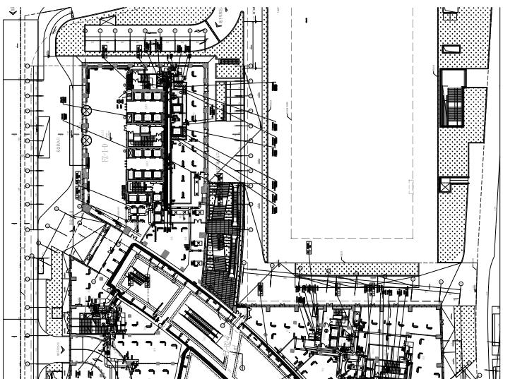 上海34層超高商業綜合體暖通施工圖