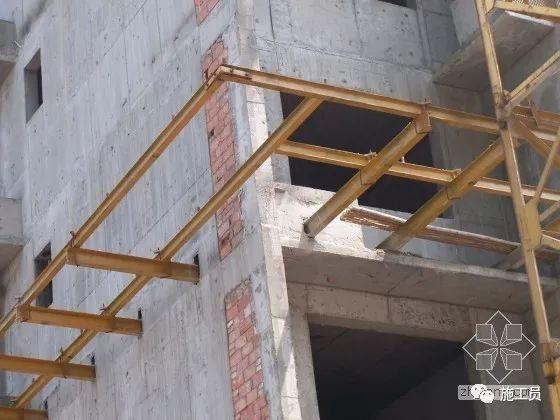 施工外脚手架及安全防护棚专项施工展示!