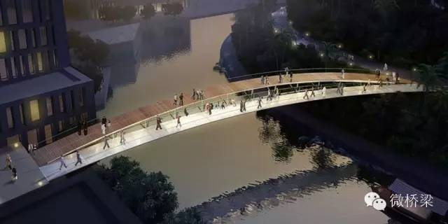 景观人行天桥设计案例欣赏