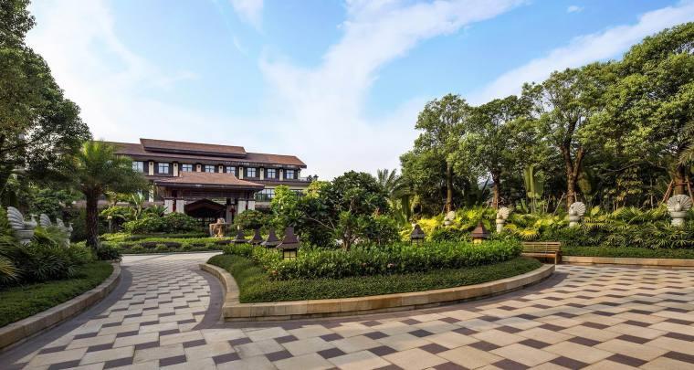 漳州海投长泰科技创业园周围景观