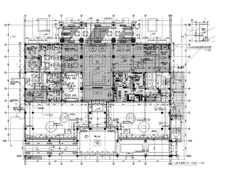 [江苏]万达设计院-万达文华酒店室内装修全套施工图+效果图