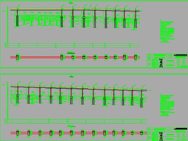 2016年设计双线铁路现浇预应力连续梁道岔梁简支箱梁桥CAD图纸183张(知名大院)