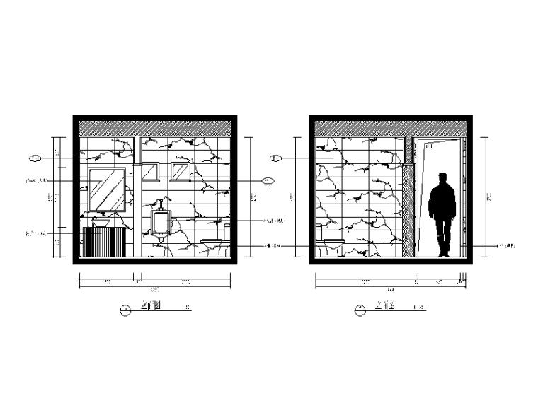 【福建】建欧现代风格别墅设计CAD施工图(含效果图)_5