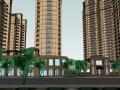 欧式风格住宅小区SU精模型