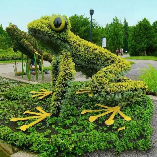 80个极美植物雕塑_18