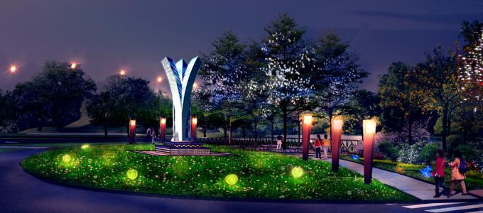 """[广东]""""源代码""""科技创意生态道路景观改造设计方案_3"""