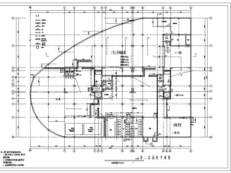 地下室人防设计施工图及设计说明CAD_1