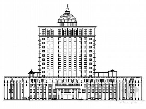 [永丰]某十五层酒店建筑施工套图